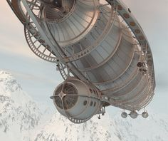 Vacuum airship by Levin