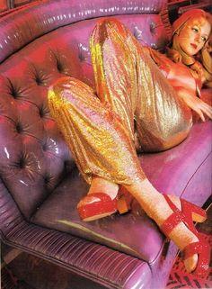 Fashion by Biba, 1970s.