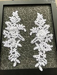 A98 Lace Appliques ,Wedding Applique, Lace Appliques, Embroidered Appliques