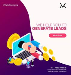 We help you set and achieve your digital goals from scratch. Build a website, increase the visibility of your website in Google, brand awareness, and lead generation.🔥✅    Get in touch with us at +91 7900999970📱📱 Building A Website, Digital Marketing Services, Lead Generation, Goals, Touch