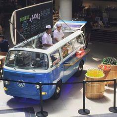 Food Trucks, Kombi Food Truck, Pizza Truck, Kombi Trailer, Food Trailer, Food Cart Design, Food Truck Design, Volkswagen Transporter, Vw Bus