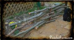 Wattle Fencing – Using Your Own Wood DIY Project