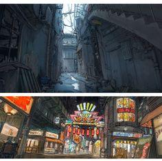 Scott Watanabe para Big Hero 6! | THECAB - The Concept Art Blog