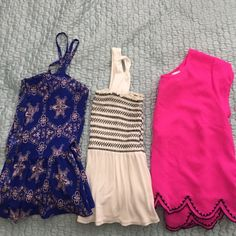 BUNDLE of 3 tops 3 tops// white ️H&M size small, the other two are size medium H&M Tops Blouses
