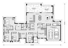 Stillwater Estate Design Ideas, Home Designs in Bass Coast - Phillip Island Home Design Floor Plans, House Floor Plans, Custom Home Designs, Custom Homes, Melbourne, 4 Bedroom House Plans, Activity Room, House Blueprints, Display Homes