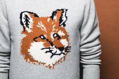 Maison Kitsuné Fall 2014 Fox Sweaters