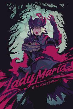 Drawing Ideas Lady Maria - Artsy-Fartsy Fine Art Prints for Gamers Fantasy Character Design, Character Art, Dark Fantasy, Fantasy Art, Lady Maria, Anime Meme, Soul Saga, Arte Dark Souls, Bloodborne Art
