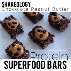 Jenelle's Superfood bars!