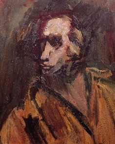 David Bomberg Self Portrait 1937