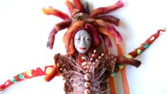 dolls by Jeanne Fry images   Wisdom Keeper Art Dolls: The Arrival a Women's Empowerment Spirit Doll
