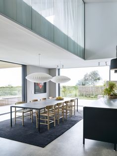Built for a family, who are the third generation owners of VIPP this beach villa, Dragor House, is designed by Studio David Thulstrup and Mads Lund. Black Kitchen Island, Interior Styling, Interior Design, Interior Lighting, New York Architecture, Upstairs Bedroom, Beach Villa, Beach House, The Way Home