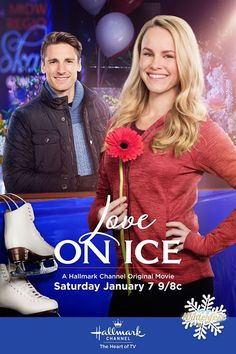 Love on Ice - Former figure skating champion, Emily James, now 27 years old and considered a relic in the world of figure skating, gets an improbable shot to reclaim skating glory when a young coach sees greatness in her. Together, they find their love of skating goes far beyond the ice. Stars Julie Berman, Andrew Walker and Gail O'Grady.