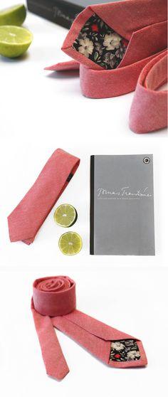 Necktie Paris with vintage tip #vintage #ties