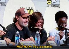 Andrew repays Norman's glitter prank at #SDCC2016