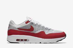 "Nike Air Max 1 Ultra Flyknit ""OG Red"" - EU Kicks: Sneaker Magazine"