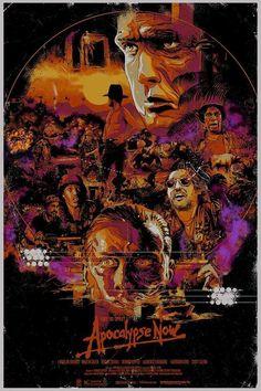 BROTHERTEDD.COM - kogaionon:    Apocalypse Now by  Vance Kelly /... Tour Posters, Film Posters, Apocalypse Now Movie, Top Film, Francis Ford Coppola, Movie Poster Art, Cultura Pop, Good Movies, Comic Art