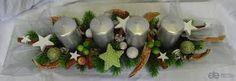 Výsledek obrázku pro adventní věnce na stůl Advent, Candle Holders, Candles, Ethnic Recipes, Food, Home Decor, Decoration Home, Room Decor, Essen