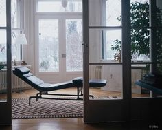 Charles & Ray Eames 1968 The Eames Chaise has one of the best origin stories of all Eames designs. Read it on our website by clicking on this image.