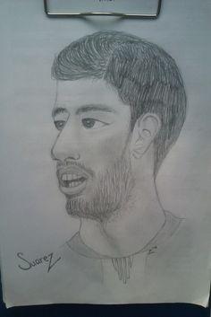 Luis Suarez #FCB #Suarez #art