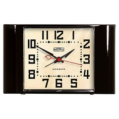 A vintage design with a modern twist, this is a great alarm clock for any contemporary office #office