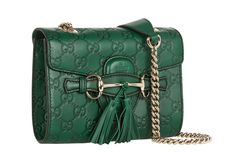 Gucci Mini Emily Embossed Shoulder