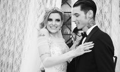 Beautiful Pic of Andy and Juliets wedding