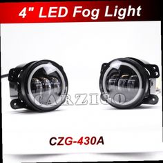 "43.00$  Watch now - http://alijx4.worldwells.pw/go.php?t=32670967975 - ""CZG-430A Angel Eyes white DRL 4 inch round 30w led fog lamps Black 4"""" round led fog lights LED headlight for jeep wrangler"" 43.00$"