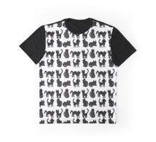 Black cats Graphic T-Shirt
