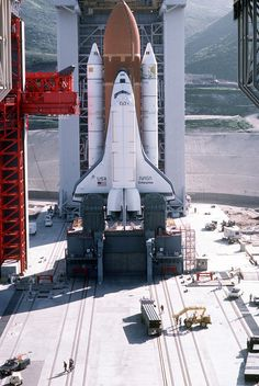 The Space Shuttle's Military Launch Complex In California That Never Was
