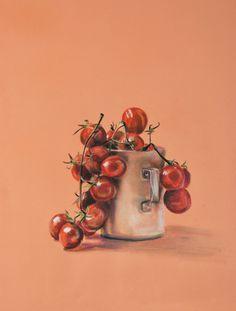 пастель, кухня, помидоры, черри, pastel, tomato, tomatoes, cherry, kitchen