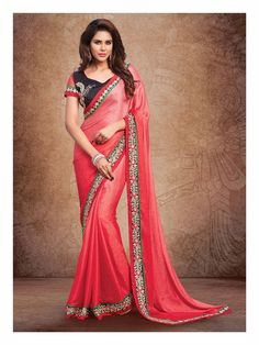Online saree shopping India at ​sarees palace. cho​ose from a huge collecti​on of designer, ethnic, ca​sual sari, buy sarees online India for all occasions. Indian Party Wear, Indian Wedding Outfits, Indian Outfits, Indian Clothes, Simple Sarees, Trendy Sarees, Indian Designer Sarees, Latest Designer Sarees, Designer Sarees Collection