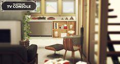 Onyx Sims - Plastolux Television Console