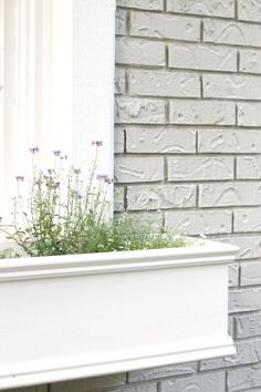 Easy DIY window boxes - create your own planters with these simple step by step instructions