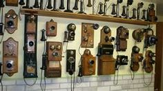 Antique phones.