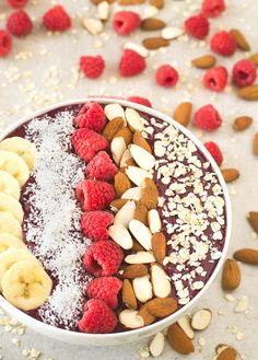 Smoothie Bowl de Arándanos