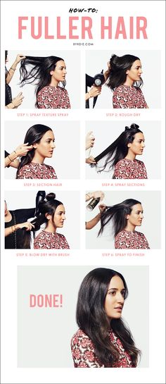 How to get bigger, fuller hair in 6 easy steps with celebrity hairstylist Jen Atkin's #tutorial. // #HowTo POST YOUR FREE LISTING TODAY! Hair News Network. All Hair. All The Time. http://www.HairNewsNetwork.com