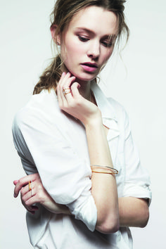 Gold and Silver pieces from the new collection. Maya Magal. London Based. Jewellery. Mixed Metals. Parallel collection.