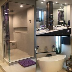 As you step into the breathtaking ensuite, the lights come on ahead of you, the music follows you, and the TV is already showing you the morning news from your favourite channel - all without lifting a finger. Morning News, Windermere, Home Theater, Corner Bathtub, Finger, Channel, Lights, Tv, Music