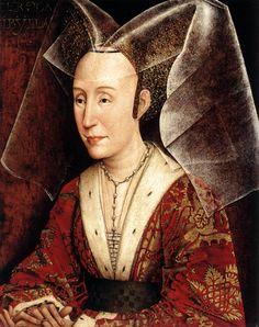Rogier van der Weyden, Isabella of Portugal, c. 1445-50