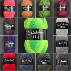 Zitron Trekking sock yarn. German sock yarn in wonderful colors. You'll find them in my webshop: www.bittamis-design.com Sock Yarn, Trekking, German, Colors, Design, Deutsch, German Language, Colour, Hiking