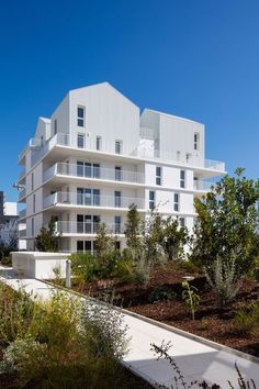 96 logements à Ginko, premier écoquartier de Bordeaux – Hessamfar et Vérons