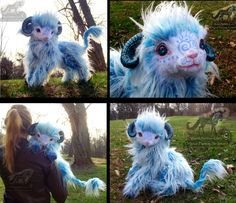 Hand Made Poseable LIFE SIZED Baby Cloud Lamb! by Wood-Splitter-Lee.deviantart.com on @deviantART