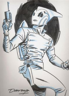 Rocketeer - Cooke Comic Art