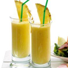 Smoothie med ananas og mango