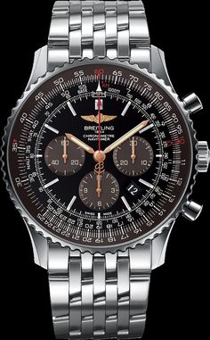 La montre Breitling Navitimer 01 mm) Limited Edition - L'élégance en vol Breitling Navitimer, Breitling Superocean Heritage, Breitling Watches, Men's Watches, Sport Watches, Cool Watches, Fashion Watches, Male Watches, Fashion Men