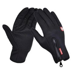 22°F TO 4°F Winter Touch Screen Ski Gloves Dual Waterproof Outdoor Motorcycle