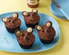 Teddy bear cupcakes recipe (Image copyright Ryland Peters & Small)
