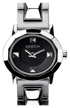 Nixon 'Mini B' Bracelet Watch, 22mm available at #Nordstrom