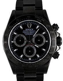 Black Rolex PVD Daytonas
