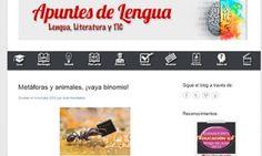 Blogs de Lengua castellana y literatura para ESO y Bachillerato